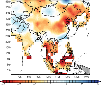 Atlas Map Of Asia.Monsoon Asia Drought Atlas